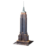 Ravensburger Empire State Building 3D Jigsaw Puzzle 216 Pieces RB12553-1 New in Box