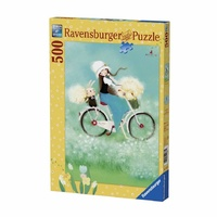 Ravensburger 500 Piece Puzzle Summertime Kuri Kumi RB14687-1 New