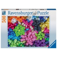 Ravensburger 500 Piece Puzzle Colorful Ribbons RB14691-8 New