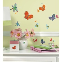 RoomMates Wall Stickers Jelly Bugs Peel and Stick Decals RMK1604SCS