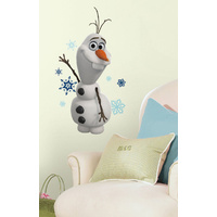 RoomMates Wall Stickers Disney Frozen Olaf Snow Man Peel And Stick Wall Decal