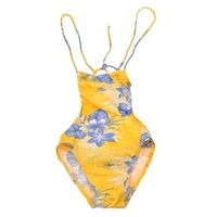 River Woods Flower Leaf Onepiece Swimsuit RRP $50 NEW