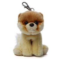 BOO Backpack Clip Worlds Cutest Dog by Gund Soft Toy