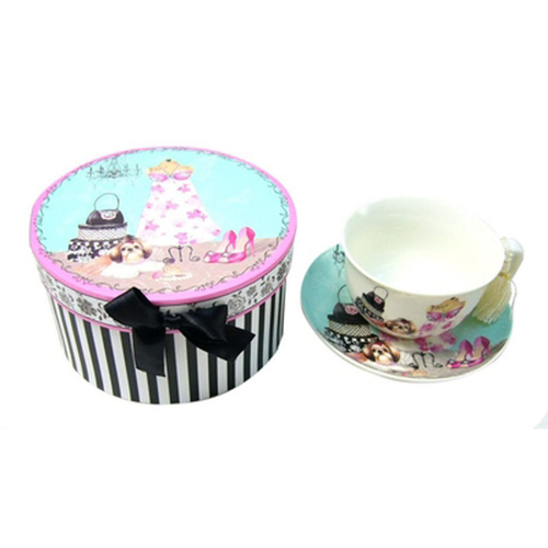 Beautiful Life Cup Saucer Gift Set Box
