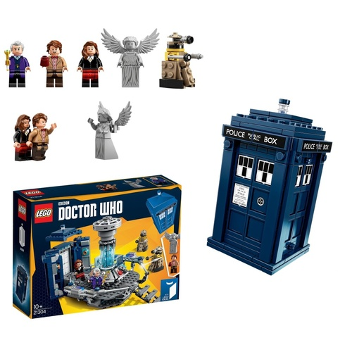 LEGO 21304 Ideas Doctor Who NEW in Box