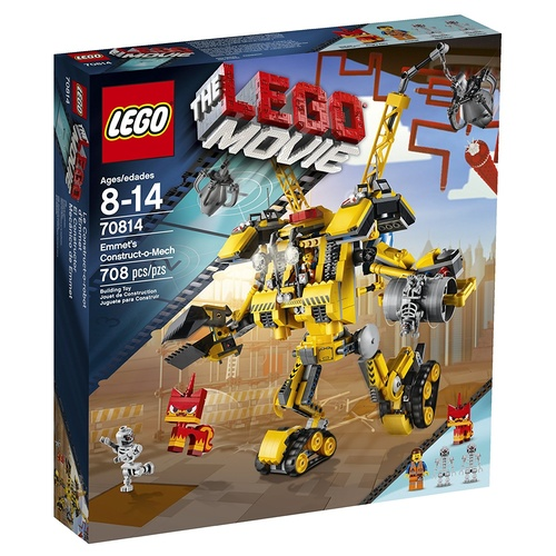 LEGO Movie 70814 Emmet's Construct-o-Mech Building Set NEW in Box