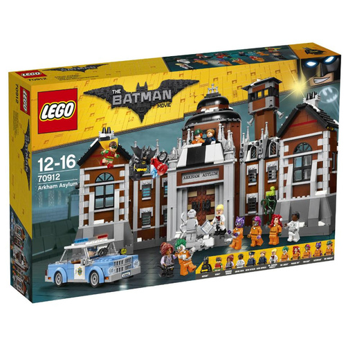 LEGO 70912 Batman Movie Arkham Asylum NEW in Box