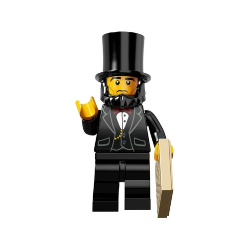 LEGO Movie Minifigure 71004 no. 5 Abraham Lincoln New in Opened Packaging