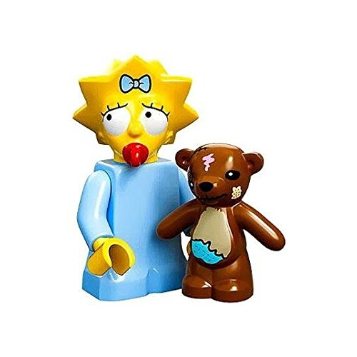 Maggie Simpson Lego 71005 LEGO Minifigure Simpsons Series 1 New in Opened Packaging New
