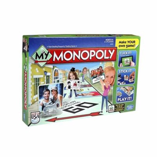 My Monopoly Board Game Make Your Own Game New in Box