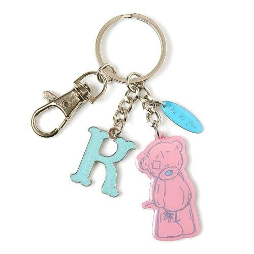 Me To You Tatty Teddy Bear Letter K Keyring with Charms by Carte Blanche