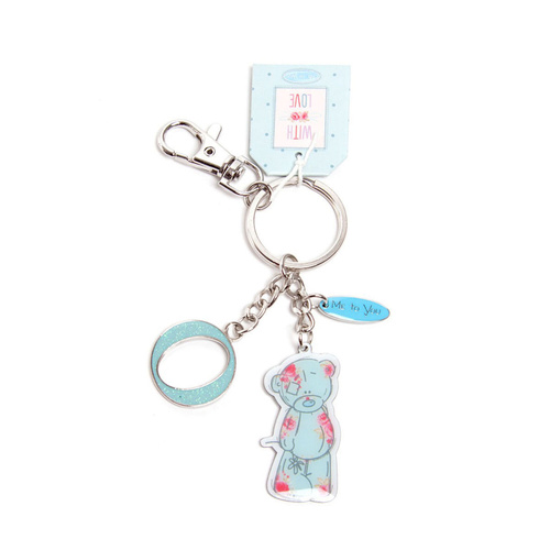 Me To You Tatty Teddy Bear Letter O Keyring with Charms by Carte Blanche