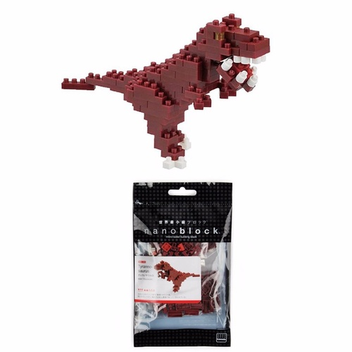 Nanoblock Mini Critters Series by Kawada Tyrannosaurus NBC 111 NEW