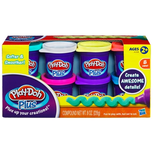Play Doh Play-Doh Plus 8 Pack New in Box