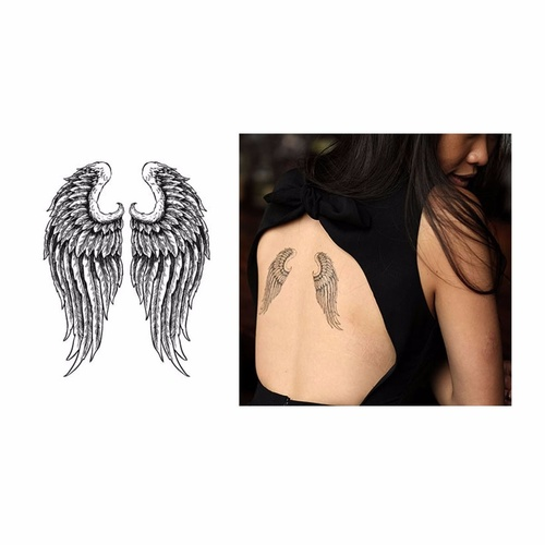 New Potatoo Temporary Tattoo GABRIELLE WINGS