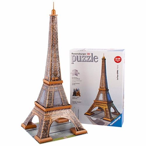 Ravensburger Eiffel Tower 3D Jigsaw Puzzle 216 Pieces RB12556-2 New in Box