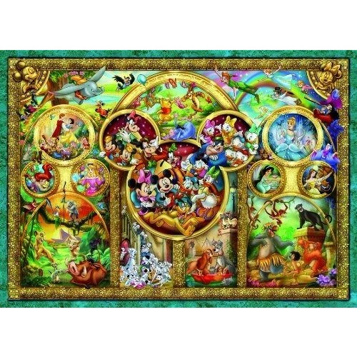Ravensburger 500 Piece Puzzle Disney Family RB14183-8 New