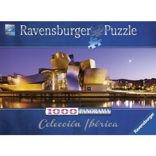 Ravensburger 1000 Piece Puzzle Guggenheim Bilbao RB15072-4 New