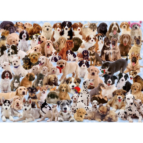 Ravensburger 1000 Piece Puzzle Dogs Galore RB15633-7 New