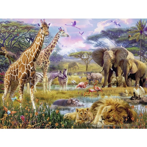 Ravensburger 1500 Piece Puzzle Colourful Africa Puzzle RB16333-5 New
