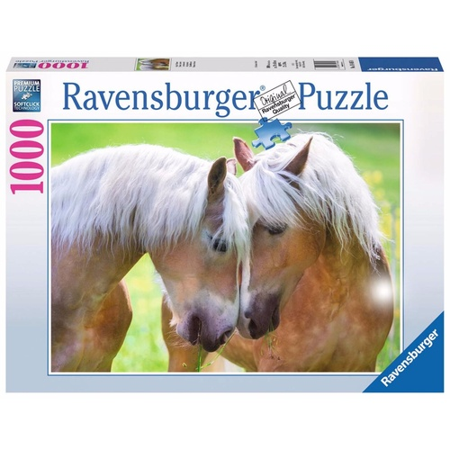 Ravensburger 1000 Piece Puzzle A Moment at Inniger Horses RB19485-8 New