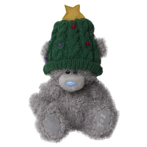 Tatty Teddy Me to You Bear Wearing Christmas Tree Hat Carte Blanche 5 inch 13cm