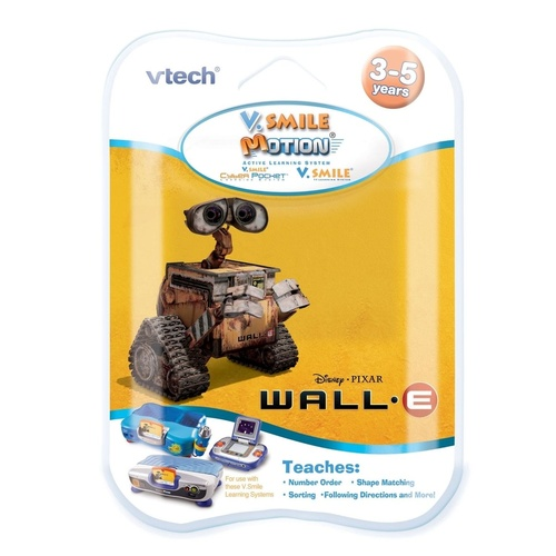 Vtech VSmile V.Smile Motion Software Cartridge Wall-e NEW